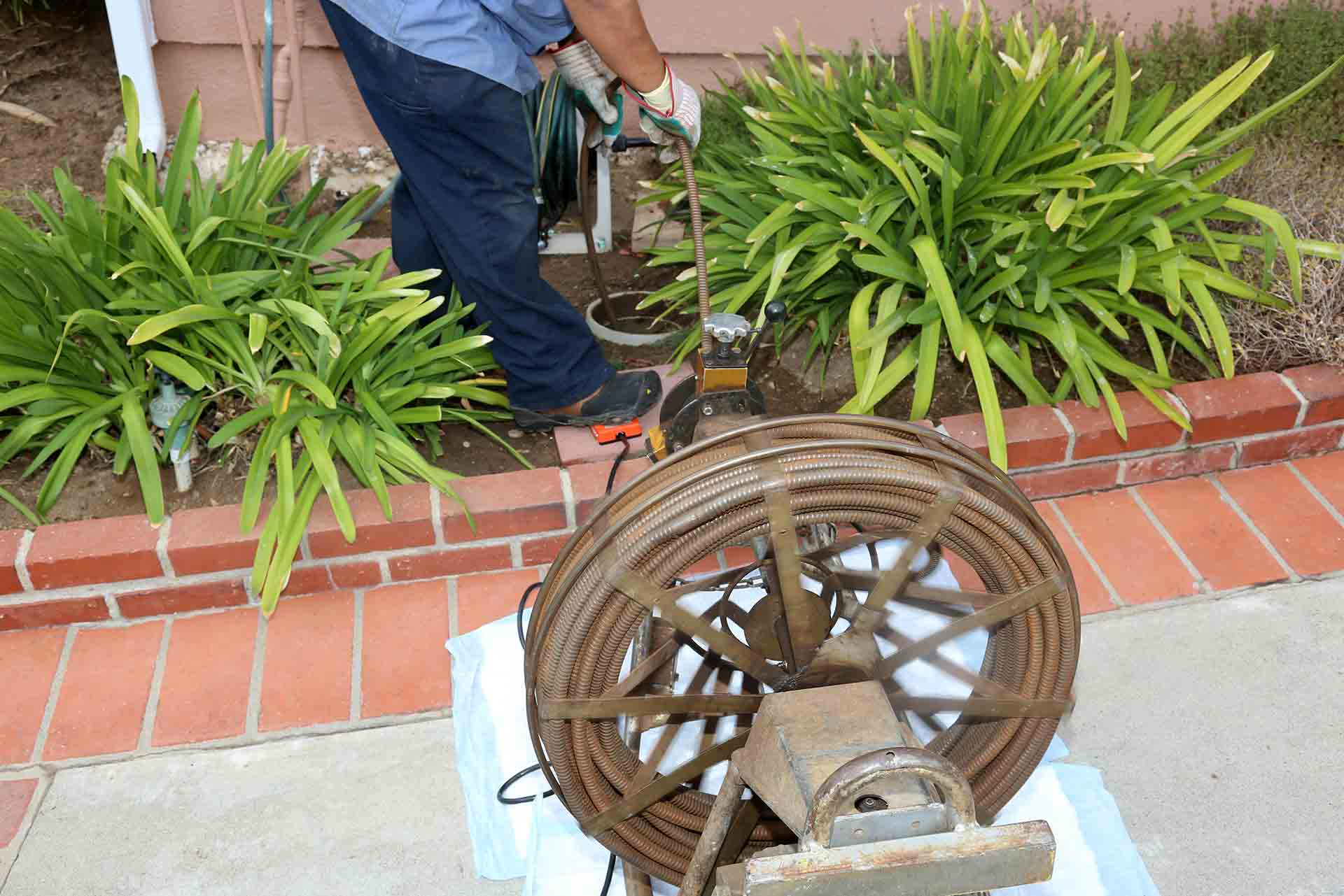 A2B Drains are able to unblock blocked drains that are outside your property as well as inside.